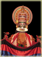 Kathakali dancer - India